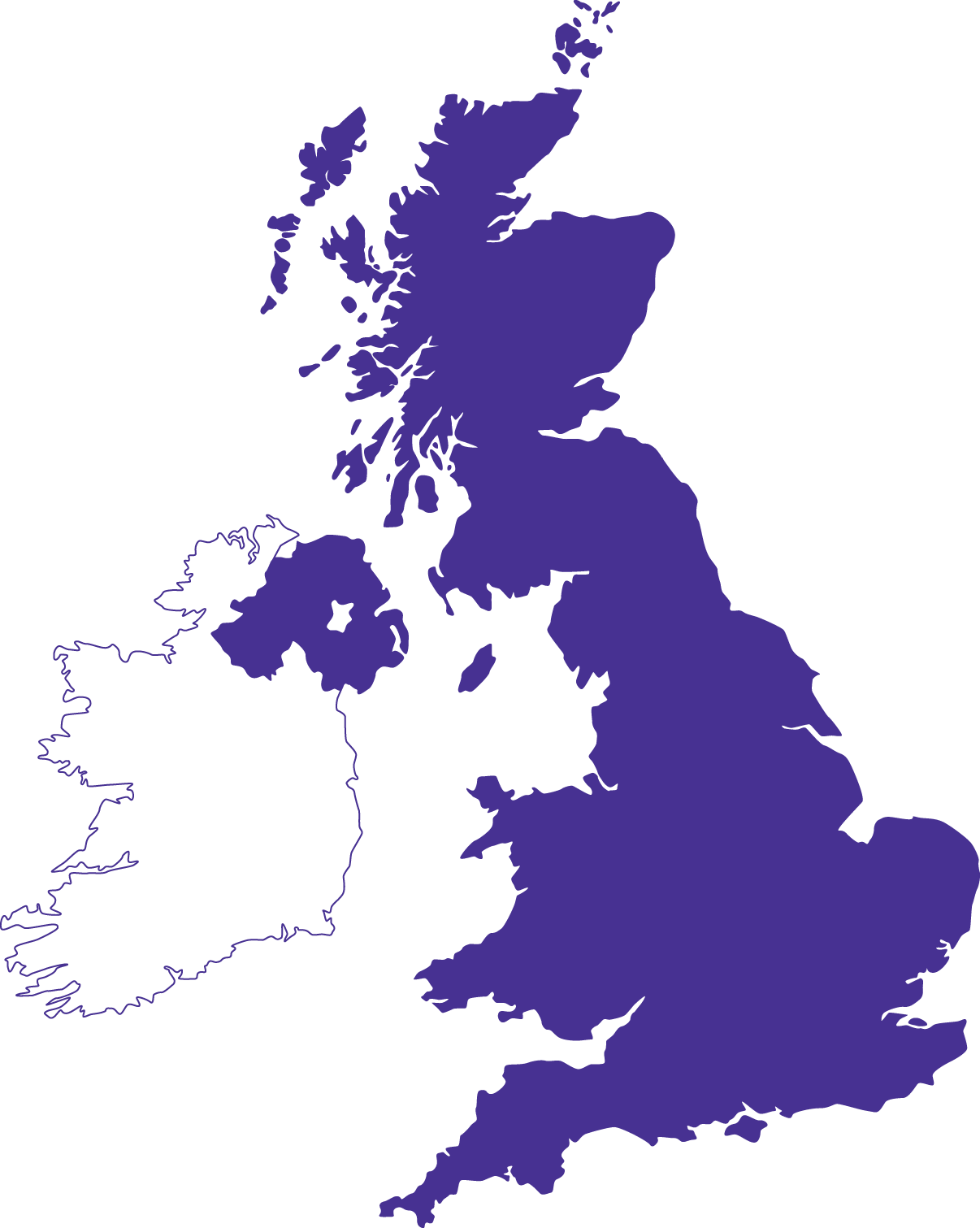 Faster Britain Map